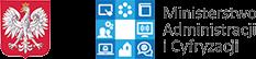 logo Ministerstwa Administracji i Cyfryzacji